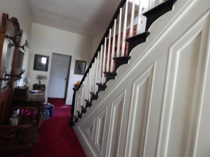 Simon Truby's stairway panels.