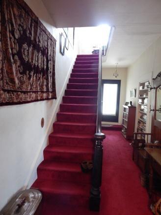 Simon Truby's single flight of 17 stairs.